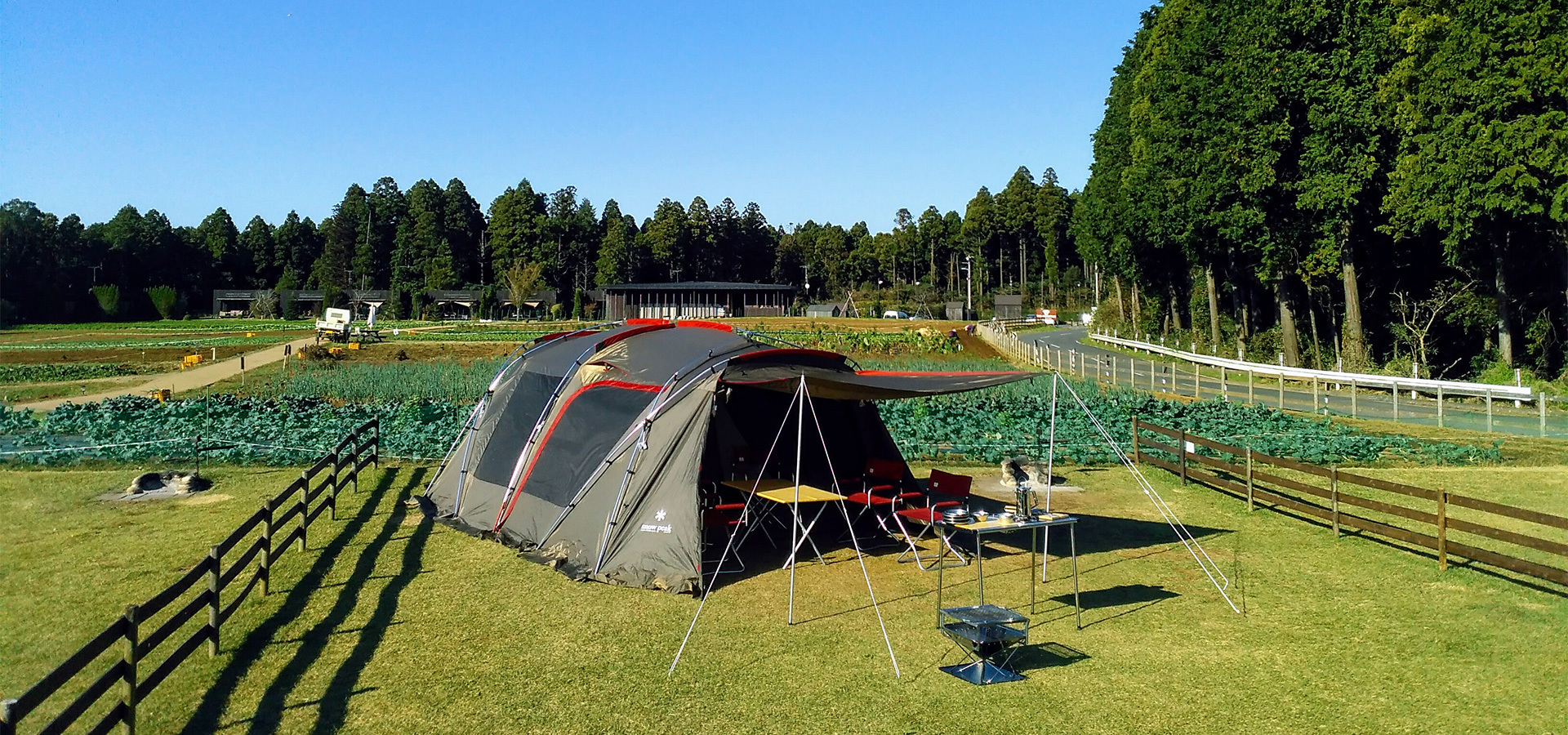 ザファーム | 農園のなかのキャンプ場